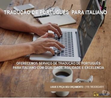 Fotos para Tradutor juramentado Italiano Campinas