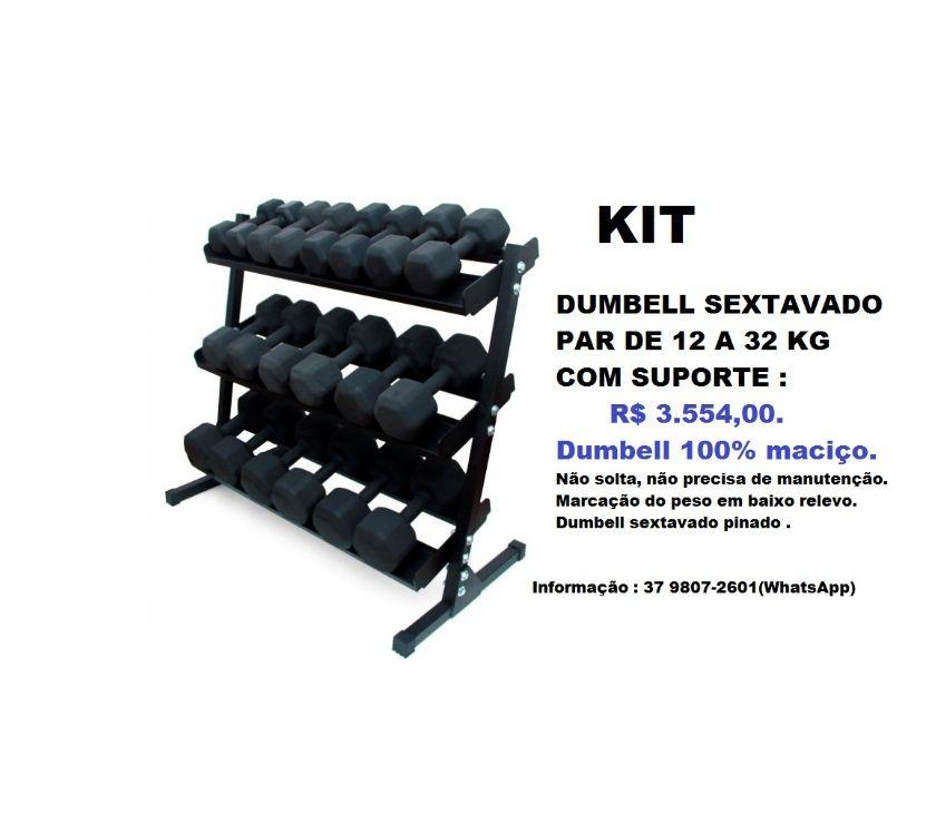 Fotos para Kit Dumbell Sextvado