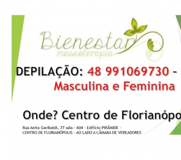 Fotos para DEPILAÇÃO MASCULINA E FEMININA - CENTRO DE FLORIANOPOLIS