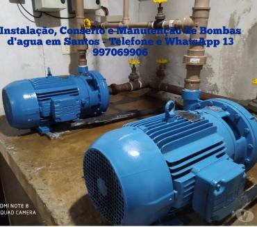 Fotos para Instalação, Conserto e Manutenção de Bombas D'Água em Santos