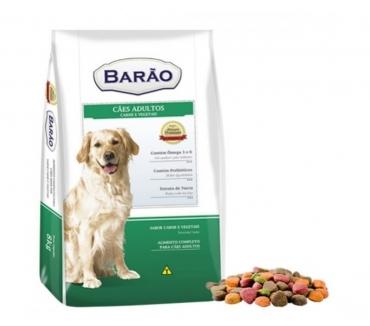 Fotos para Ração Barão Premium Cães Adultos Carne e Vegetais - 25 kg
