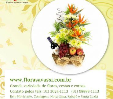 Fotos para Floricultura entrega flores, cesta de café, coroa Belo Vale