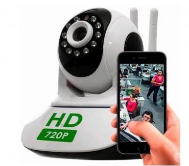 Fotos para Câmera Ip Wireless Visão Noturna Celular Pronta Entrega Bh