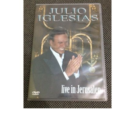 Fotos para DVD Júlio Iglesias Live Em Jerusalém!