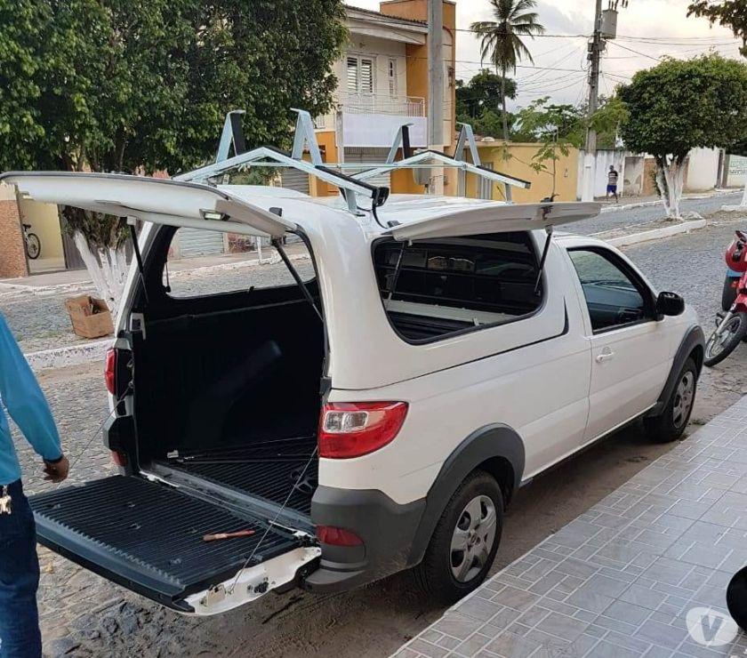 Acessórios Automóveis Juazeiro do Norte CE - Fotos para JN - CAPOTAS DE FIBRA P TODAS AS PICAPES