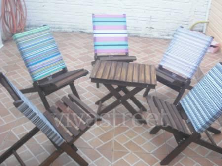 Fotos para cadeiras em madeiras desmontavel