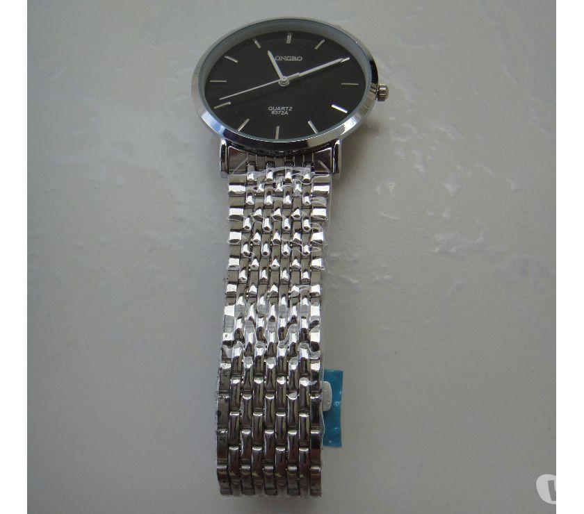 Fotos para Relógio em Aço de Quartzo Ultrafino 010