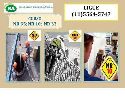 Fotos para Curso NR 35 só 120,00 em Santo Amaro e Moema NR 35 120,00