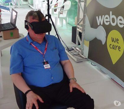 Fotos para Aluguel de oculus rift Htc vive p realidade virtual floripa
