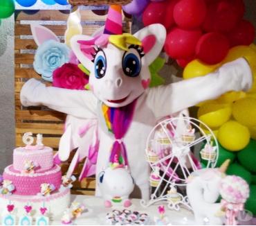 Fotos para Unicornio Cover personagens vivos para festa infantil