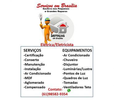 Fotos para Eletricista para Serviços Elétricos no Cruzeiro e em Todo DF