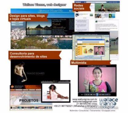 Fotos para Wallace Vianna Webdesigner freelancer Rio de Janeiro RJ