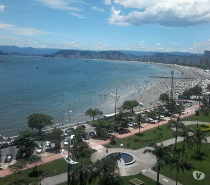 Fotos para Apartamento frente ao mar ponta da praia Santos, completo