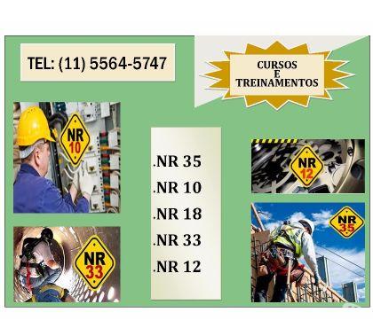 Fotos para NR 35 e NR 10 - Promocional em Santo Amaro - Confira!