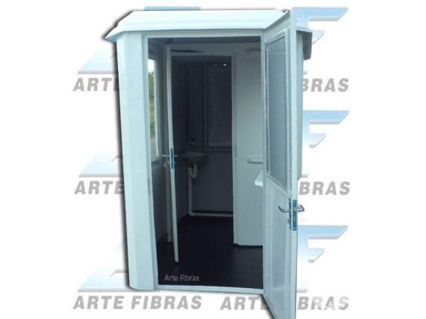 Fotos para Guarita Dupla G005 (com banheiro hidráulico)