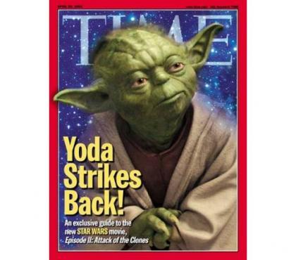 Fotos para YODA Star Wars Time Magazine REVISTA