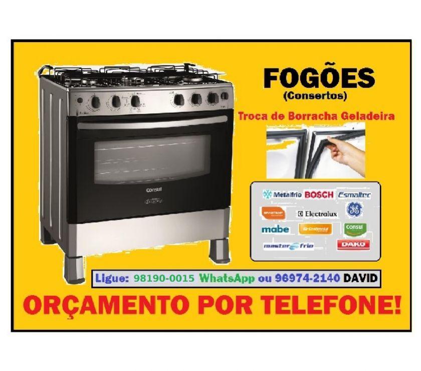 Fotos para Fogões, Máquinas Lavar e Geladeiras - Consertos Emergência