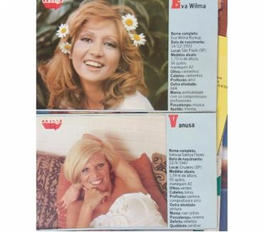 Fotos para Revista Contigo e Ilusao - Poster de Artistas - decadade 70