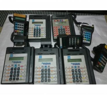 Fotos para Hypercom T7P Máquina Cartão com terminal S7S- Limpa Estoque