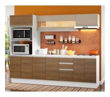 Fotos para Cozinha Completa 100% MDF Madesa Smart 250 cm Modulada Com B