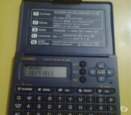 Fotos para Agenda Eletrônica Casio SF-2000