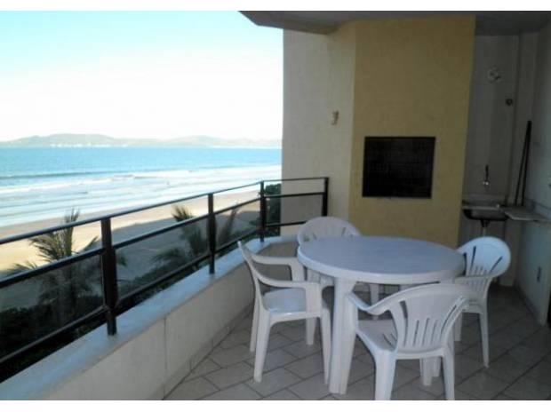 Aluguel temporada Itapema SC - Fotos para Apartamento 3 quartos frente p/ praia - Meia Praia