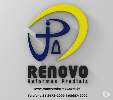 Fotos para Manutenção Reforma Pintura Limpeza de Fachada Corporativa BH