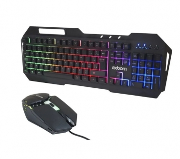 Fotos para Kit Teclado e Mouse Gamer BK-G800 Leds Promoção