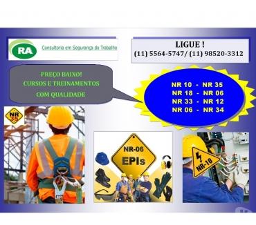 Fotos para NR 10 - CURSO NR 10 R$ 160,00 e NR 35 R$ 100,00 em OSASCO-SP