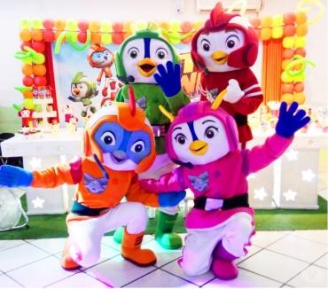 Fotos para Top Wing cover personagens vivos festa infantil