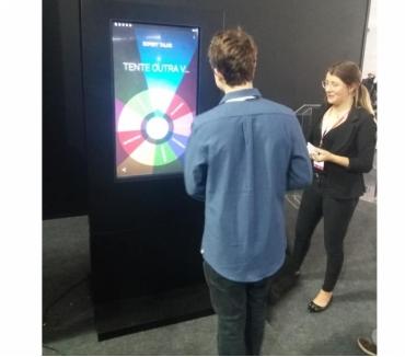 Fotos para Jogos Interativos telas TouchScreen Roleta Russa p eventos