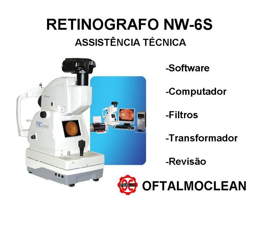 Fotos para Assistência técnica para retinografo Topcon NW6 e NW8