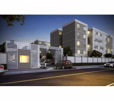Fotos para 2 quartos com varanda em Santa Rita - entrada facilitada