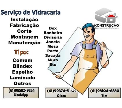 Fotos para Vidraceiros para Serviços de Vidraçaria em todo o DF