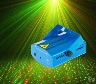 Fotos para Projetor Holográfico Laser Strobo Festas Rítmico DJ