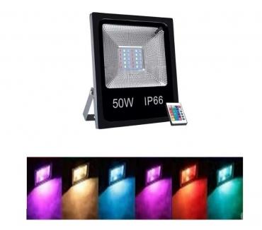 Refletor Led 30w Rgb Controle 16 Cores Retirar Centro BH comprar usado  Belo Horizonte MG