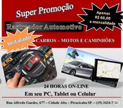 Fotos para Rastreador em Piracicaba SP. - Locação.