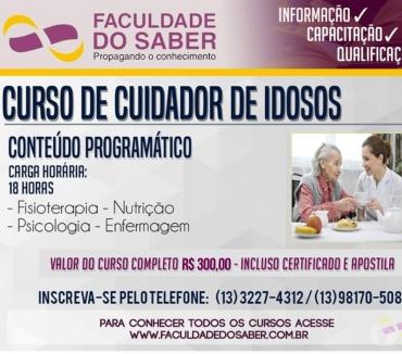 Fotos para Curso de Cuidadores de Idosos em Santos