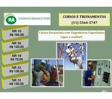 Fotos para Cursos Presenciais Nr-10 e Nr-35 Santo Amaro Zona Sul de SP