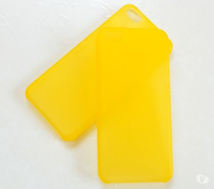 Fotos para Capa Case em SiliconeTPU Amarelo Iphone 5 5s