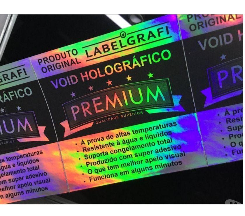 Outros serviços Vitoria ES Centro de Vitória - Fotos para Lacre Void Holográfico linha Premium