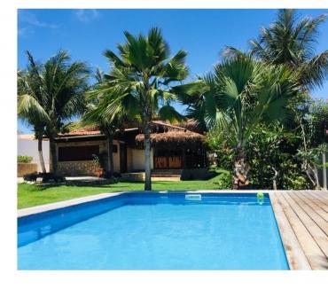 Fotos para Casa + 2 chales terreno 1800 m2 e piscina em Canoa Quebrada
