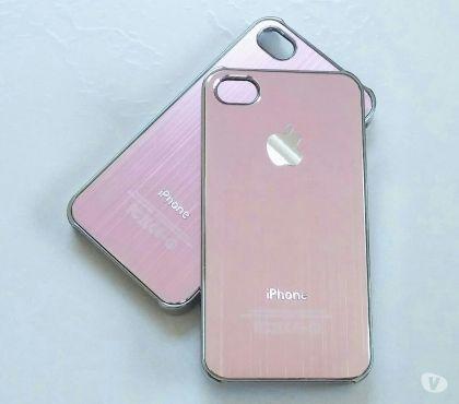 Fotos para Capa Case em Alumínio Aço Escovado Iphone 4 4s