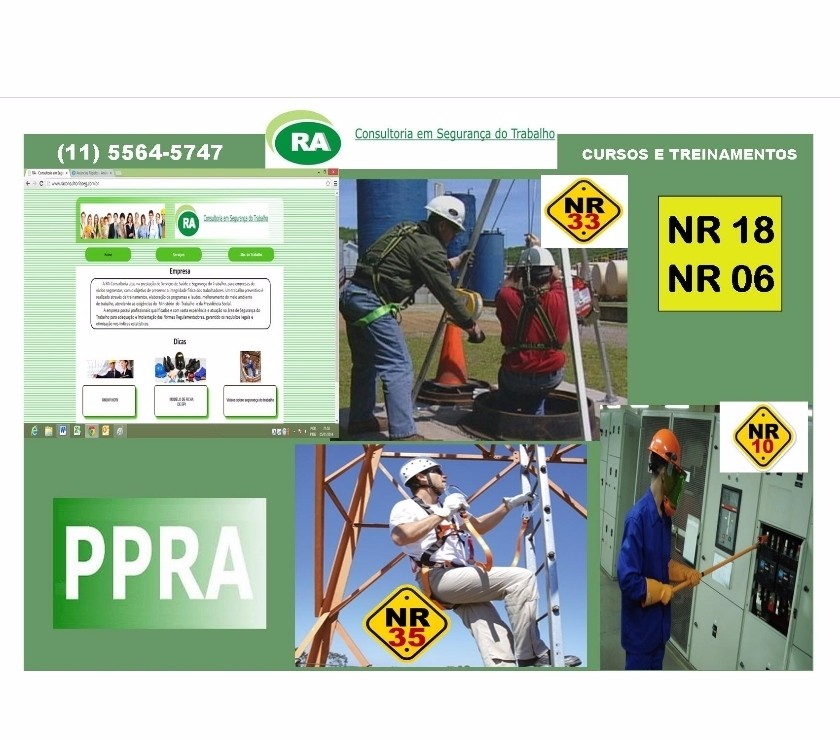 Outros cursos Sao Paulo SP Outros Bairros Sao Paulo SP - Fotos para Cursos NR-35, NR-33, NR-10 Zona Leste Oeste Sul e Norte SP