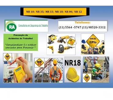 Fotos para Cursos NR-35, NR-33, NR-10 Zona Leste Oeste Sul e Norte SP