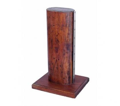 Fotos para Base Abajur de madeira feito com secção do mastro de veleiro
