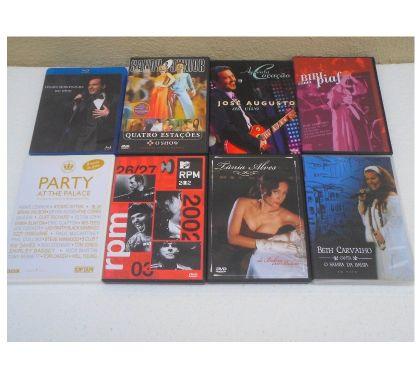 Fotos para DVDs Musicais Originais - Diversos Gêneros