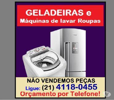 Fotos para CONSERTO DE GELADEIRA FROST-FREE e MáQUINA LAVAR EMERGêNCIAS