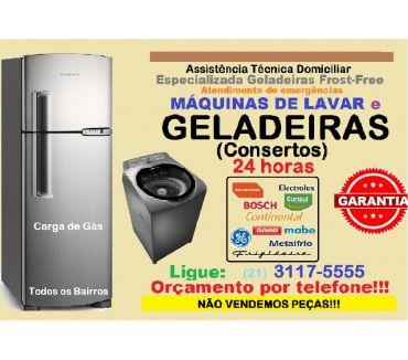 Fotos para Conserto 24hs Geladeira e Máquina Lavar Tijuca, Grajaú etc