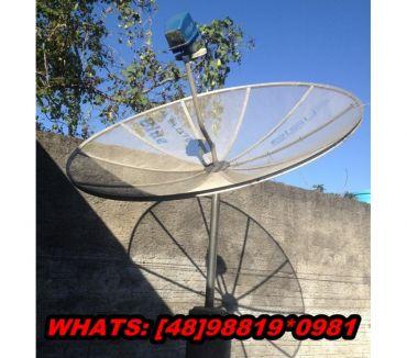 Fotos para Tv,som,Antena Parabólica Bem Conservada!Leia a Descrição!!